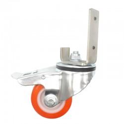 Wheels for case sealer