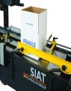 Precintadora de cajas SIAT - Máquinas SIAT, soluciones de embalaje de alta calidad para profesionales e industria